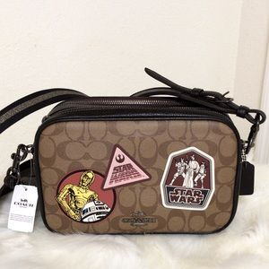 💃STAR WARS X COACH JES CROSSBODY WITH PATCHES